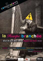 Affiche la harpe branch e 18 19 04 2014