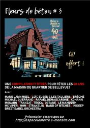 Verso flyer concerts 40 ans
